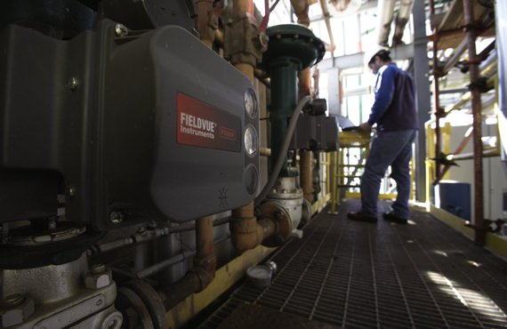 As gas passes through a compressor, there are limitations on process, speed, power, and surge.