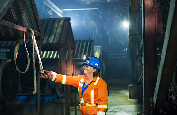 Safety and availability are key components of mining facility shafts.