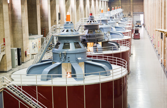As the health of a hydro turbine degrades, its performance decreases and unplanned shutdowns become possible.
